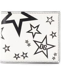 Dolce & Gabbana Бумажник С Принтом - Белый