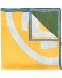 Tory Burch - Colour Block Scarf - Lyst