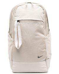 Nike Sac à dos à logo imprimé - Blanc