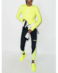 P.E Nation Cropped Knitted Sweater - Yellow
