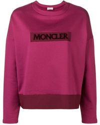 Moncler - ロゴ スウェットシャツ - Lyst