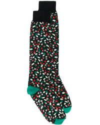 Marni Jacquard Liz Pattern Socks - Multicolor