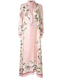 Dolce & Gabbana - フローラルプリント ドレス - Lyst