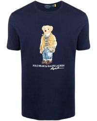 Polo Ralph Lauren - Polo Bear Tシャツ - Lyst