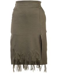Haculla - Gonna con frange Dying to live - Lyst