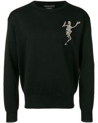 Alexander McQueen ビジュー セーター - ブラック