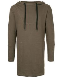 First Aid To The Injured - Long Line Hoodie - Lyst