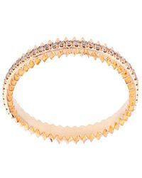 Eva Fehren - Thin Embellished Ring - Lyst