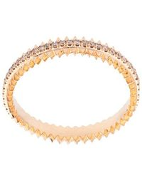 Eva Fehren - 18k Rose Gold Ring With Pale Champagne Diamonds - Lyst