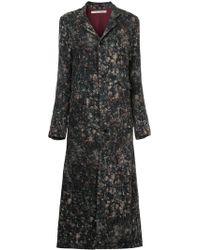 Aleksandr Manamïs - Long Buttoned Coat - Lyst