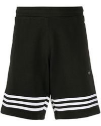 adidas Joggingshorts mit Streifen - Schwarz