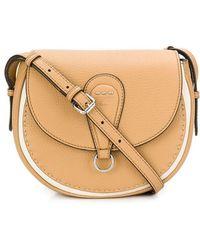 e60c224a3e83 Fendi Micro  double Baguette  Crossbody Bag in Red - Lyst