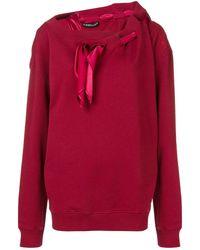 Y. Project スカーフ スウェットシャツ - レッド