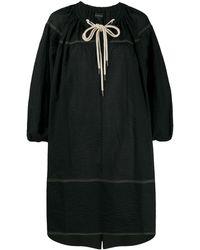 Lee Mathews Sd Ls Keiko チュニックドレス - ブラック