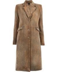 Avant Toi - Classic Single-breasted Coat - Lyst
