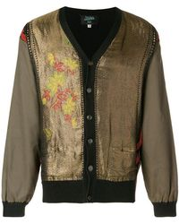 Jean Paul Gaultier - Embroidered V-neck Cardigan - Lyst