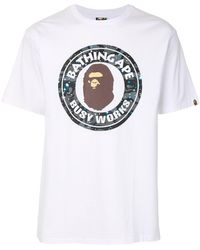 A Bathing Ape Busy World Tシャツ - マルチカラー