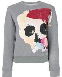 Alexander McQueen - Skull Print Sweatshirt - Lyst