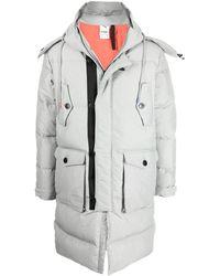 PUMA Padded Zip-up Coat - Grey