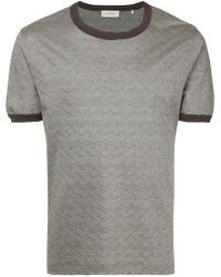 Cerruti 1881 - Wavy Print T-shirt - Lyst