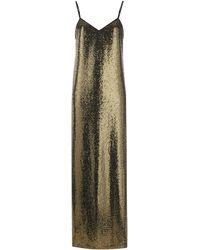 Gucci - スパンコール ロングドレス - Lyst