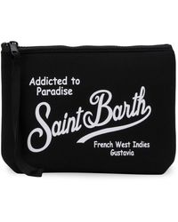 Mc2 Saint Barth Cartera de mano con boca ancha - Negro