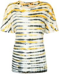 Proenza Schouler T-shirt à motif tie & dye - Multicolore