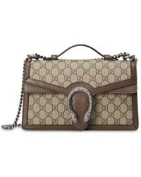 Gucci Dionysus Gg Supreme Top Handle Bag - Multicolour