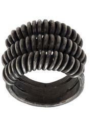UMA | Raquel Davidowicz 'Grade' Ring - Mettallic