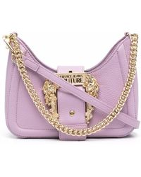 Versace Jeans Couture Buckle-fastening satchel bag - Lila