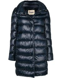 Herno Feather Down Puffer Jacket - Синий
