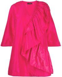 Stine Goya Marina ラッフル ドレス - ピンク