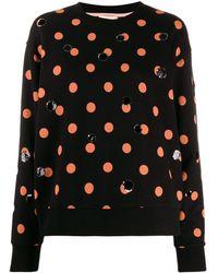 Tory Burch Dotty Sequin Sweatshirt - Black