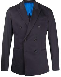 Paul Smith Double-breasted Blazer - Blue