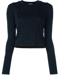 Neil Barrett Cable Knitted Sweater - Black