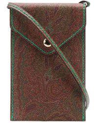 Etro Paisley-print Phone Case - Brown