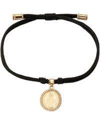 Dolce & Gabbana - Devotion ダイヤモンド ブレスレット 18kゴールド - Lyst