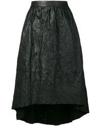 Zadig & Voltaire テクスチャード スカート - ブラック