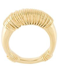Aurelie Bidermann Alhambra ring - Giallo