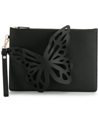 Sophia Webster - Butterfly Embellished Clutch Bag - Lyst