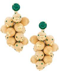 EVA Cachos Earrings - マルチカラー
