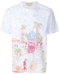 Marni - Magdalena Suarez Printed T-shirt - Lyst