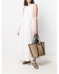 Brunello Cucinelli Платье Макси Без Рукавов - Белый