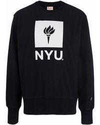Champion Ny University スウェットシャツ - ブラック