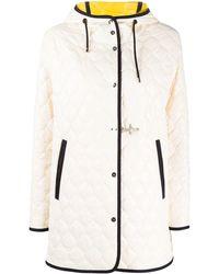 Fay キルティングジャケット - ホワイト