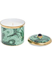 L'objet Malachite Candle - Green