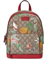 Gucci - Tian Gg Supreme Backpack - Lyst