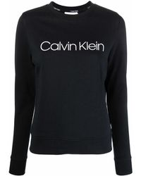 Calvin Klein ロゴ プルオーバー - ブラック