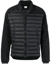 C P Company - Quilted Bomber Jacket - Lyst