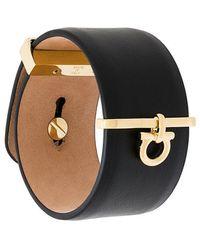 Ferragamo - Gancio Charm Cuff Bracelet - Lyst
